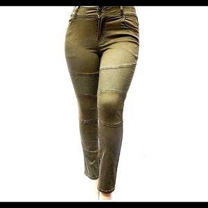 18c07be807c Jack David Jeans - Women s Plus Size Moto Biker Stretch Skinny Denim